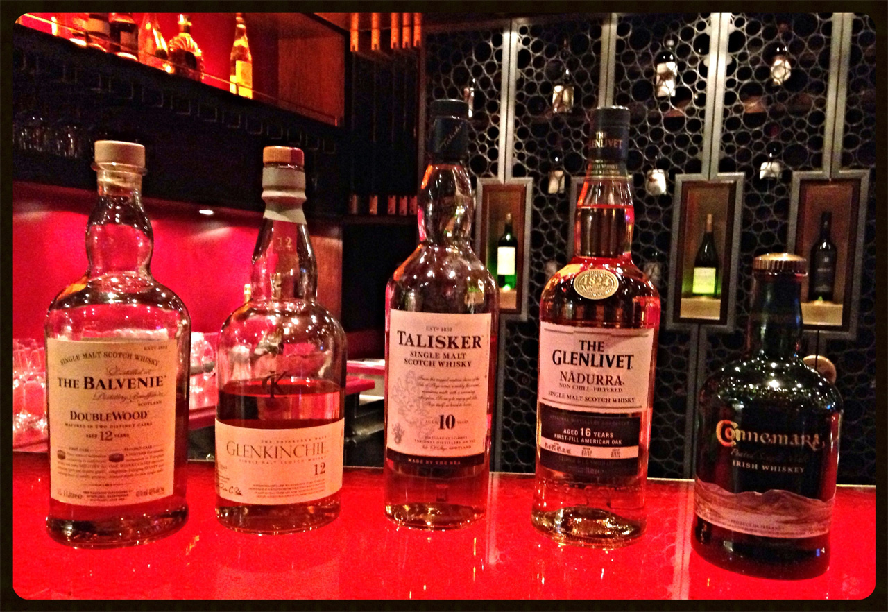 Verkostete Whiskys