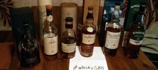 Whiskyauswahl whiskySBH 09/2013