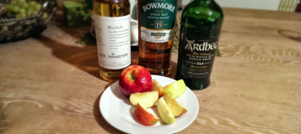 Whisky und Apfel