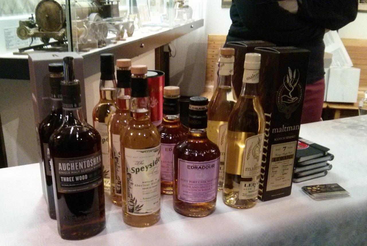 Verkostungskadidaten des Whiskyzug-Abends