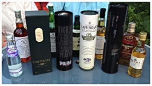 Whiskyauswahl beim #ttwhisky