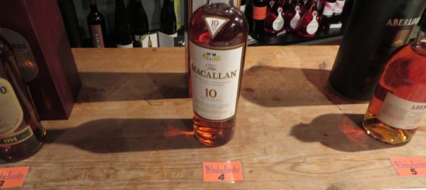 Macallan 10 Jahre Sherry Oak Finish