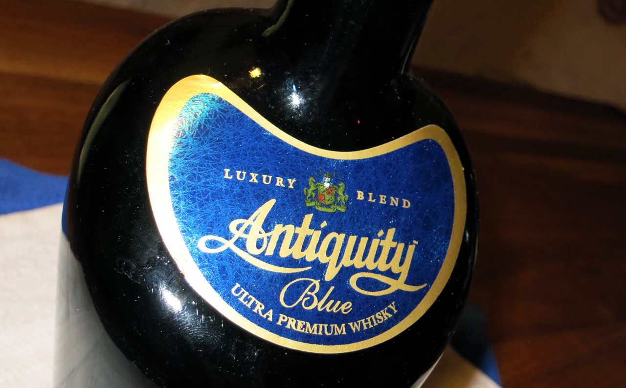Antiquity Blue, Ultra Premium Whisky