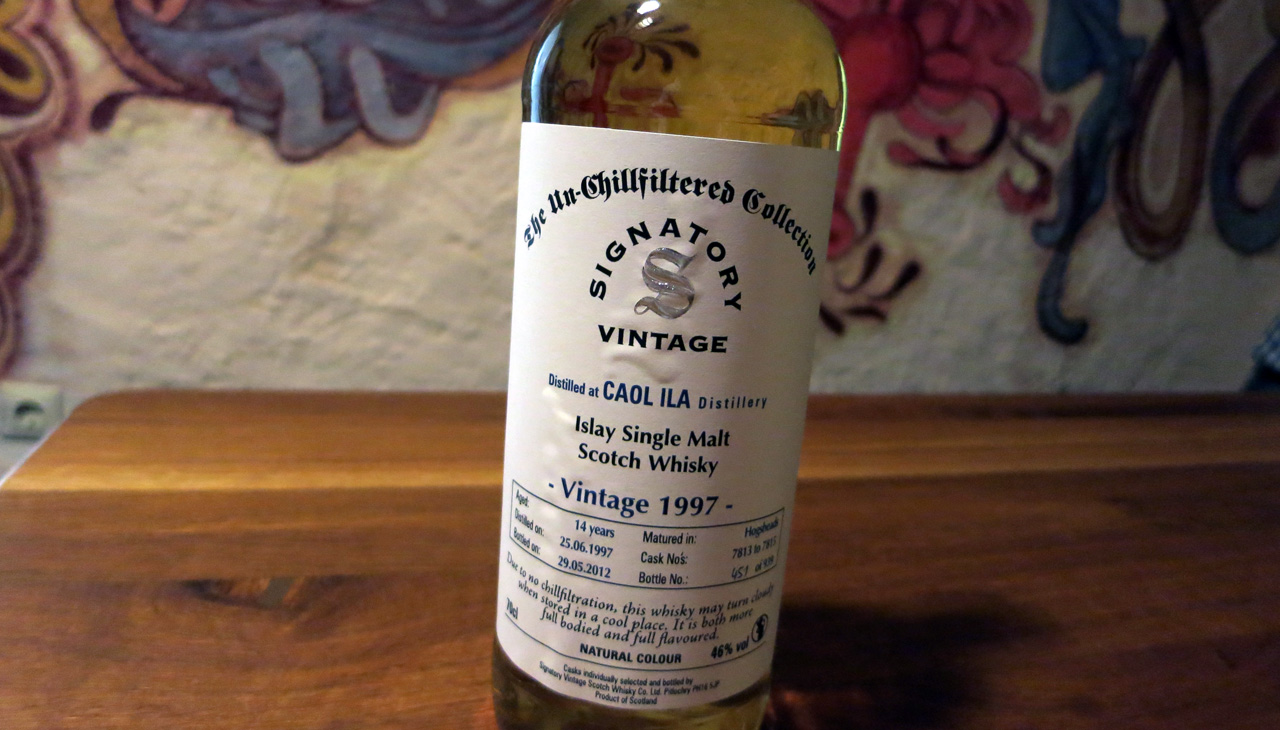 Caol Ila, Vintage 1997, 14 Jahre, Signatory, The Un-Chillfiltered Collection