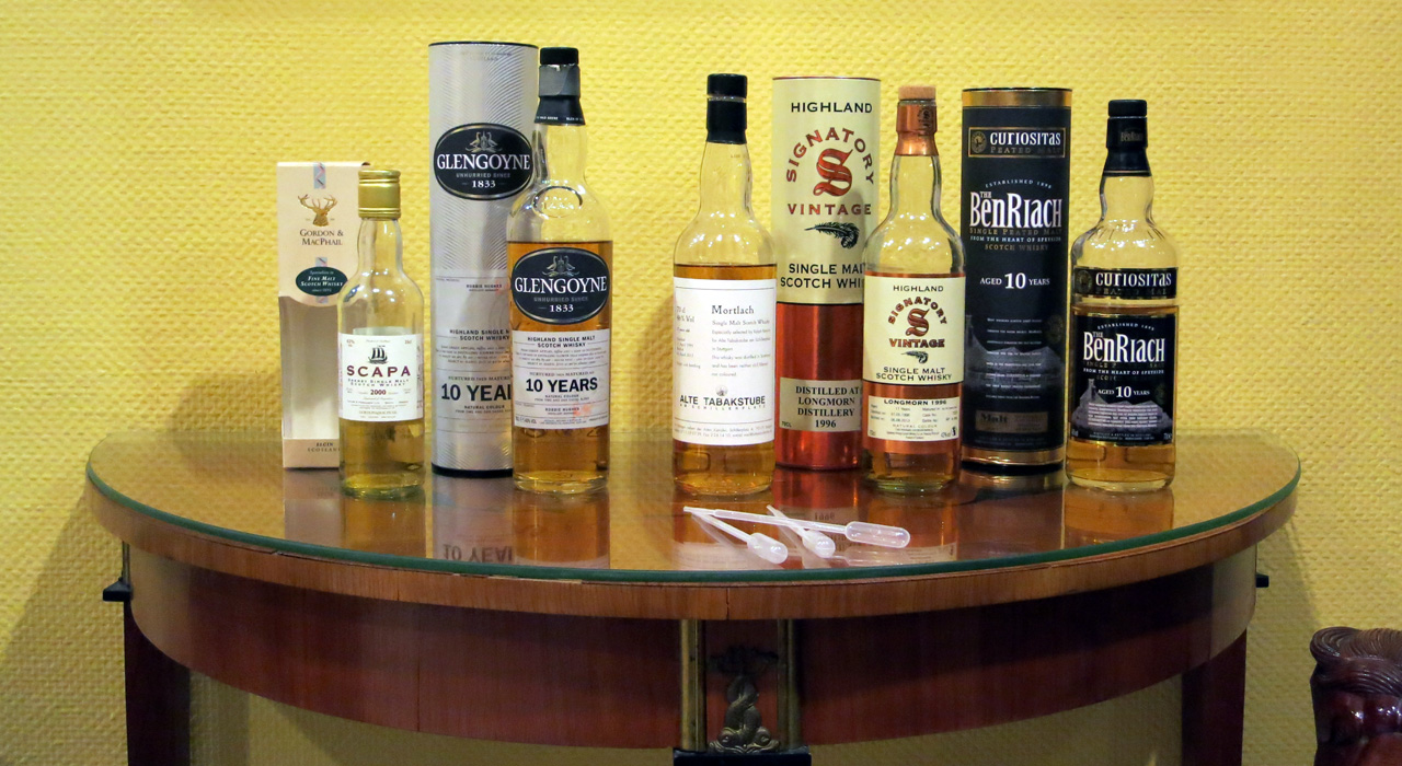 Lineup des whiskyBN-Meetup am 14.02.2014