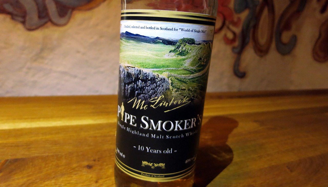 Pipe Smoker's, 10 Jahre, Mc Lintock / World of Single Malt