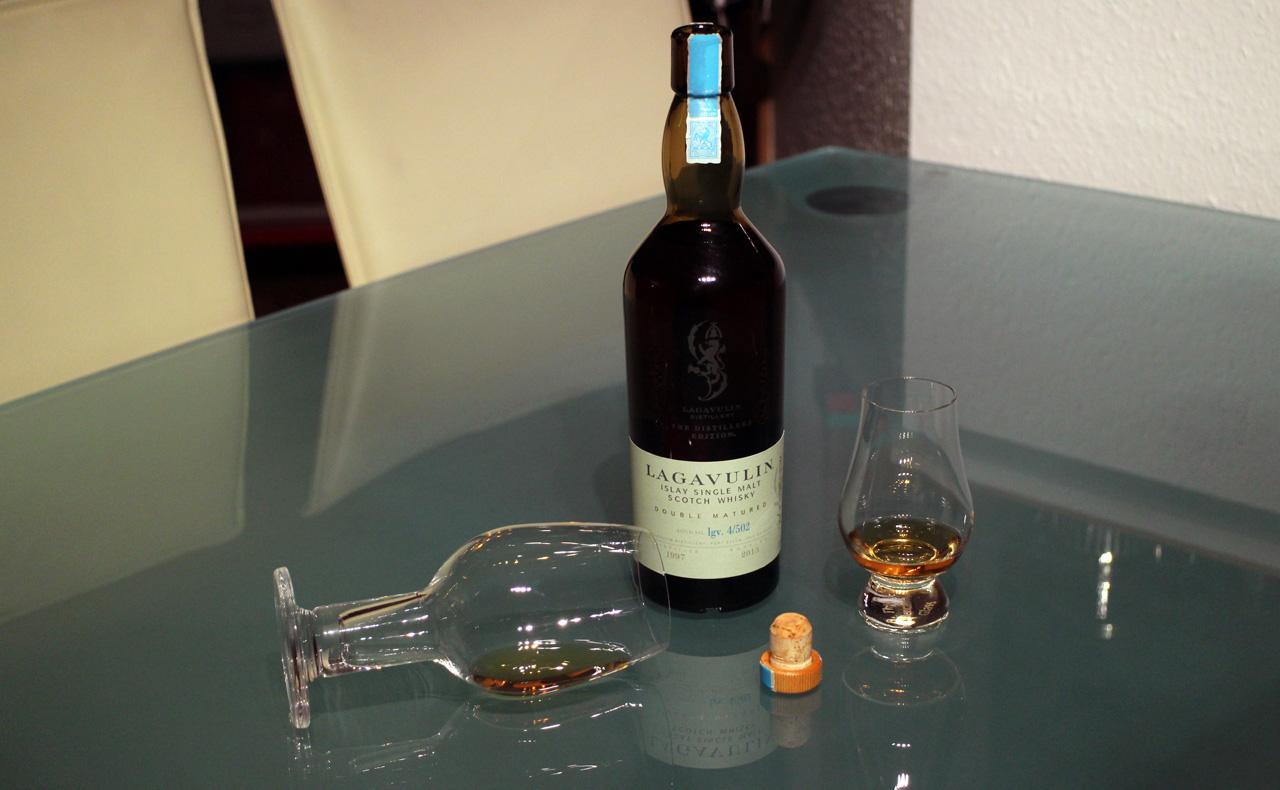 Tasting des Lagavulin Distillers Edition 1997/2013