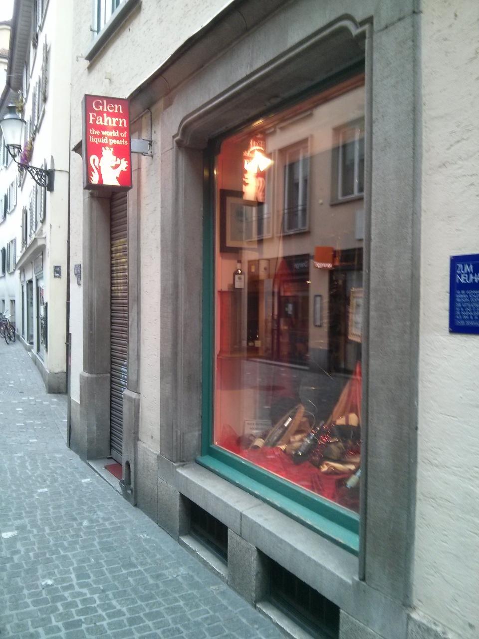 Glen Fahrn, Whisky mitten in Zürich