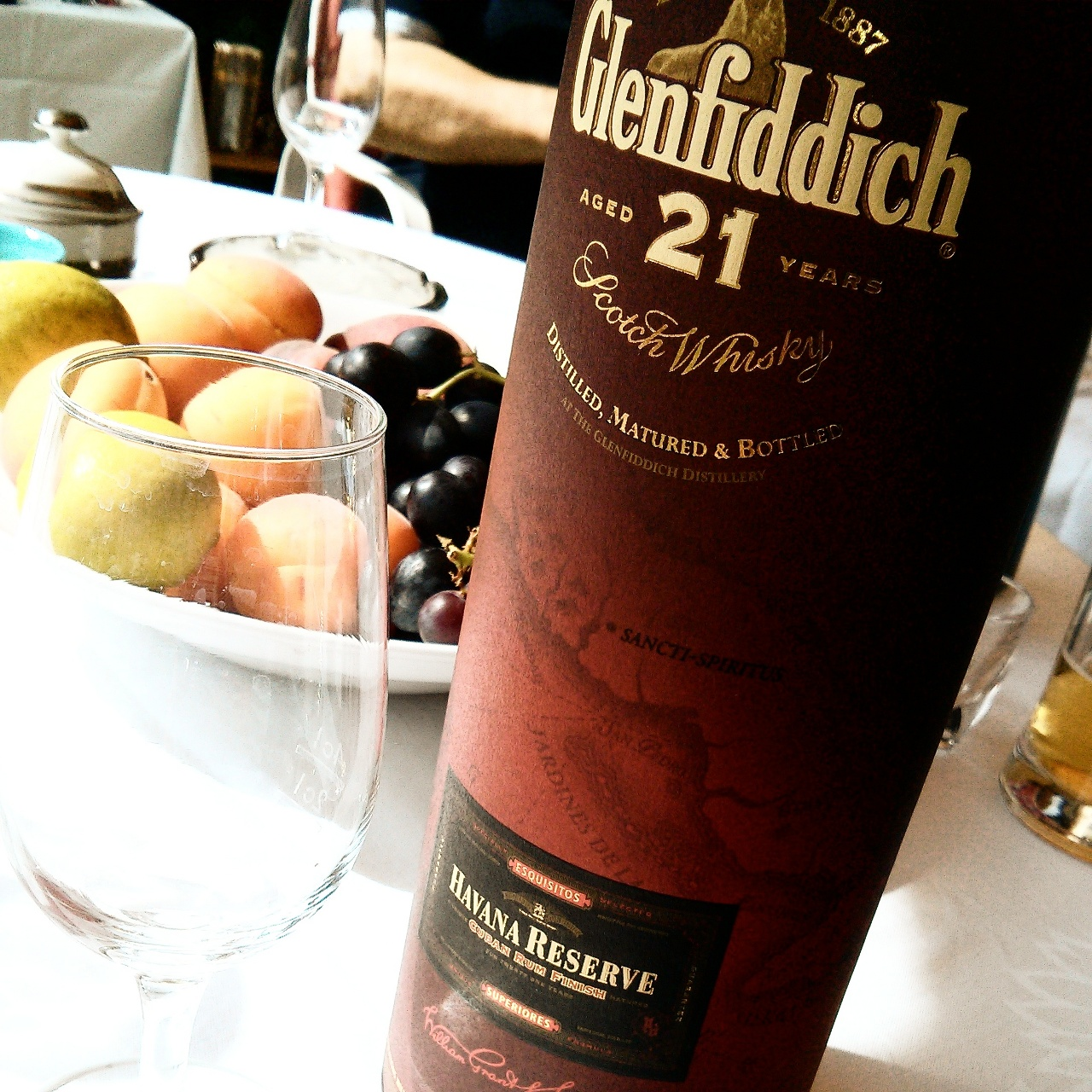 Glenfiddich, 21 Jahre, Havanna Reserve, Cuban Rum Finish