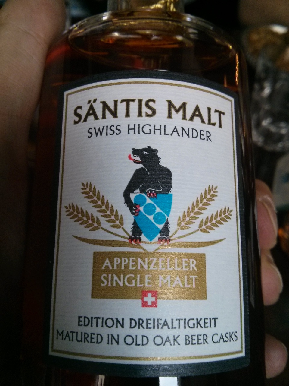 Säntis Appenzeller Single Malt, Edition Dreifaltigkeit