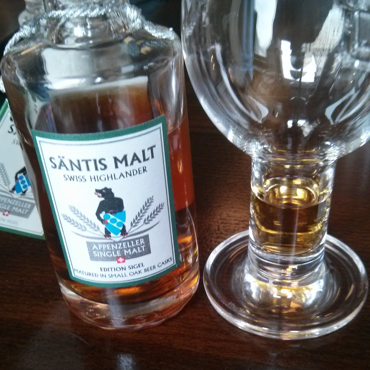 Säntis Appenzeller Single Malt, Edition Sigel