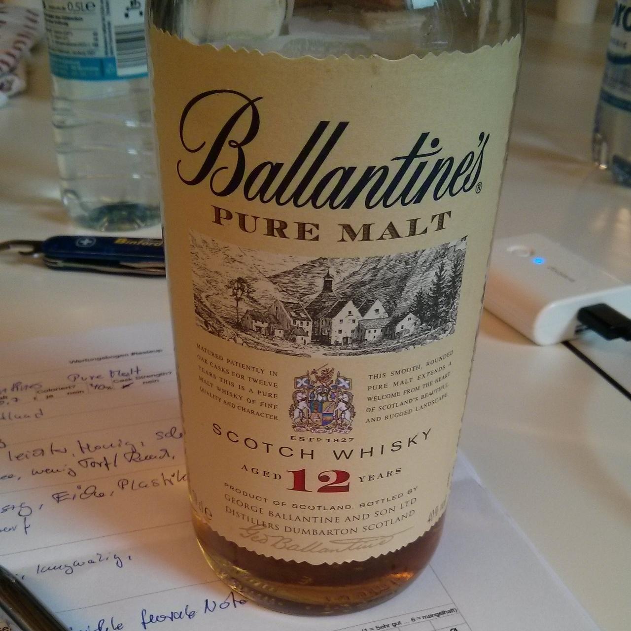 Ballantines Pure Malt 12yo