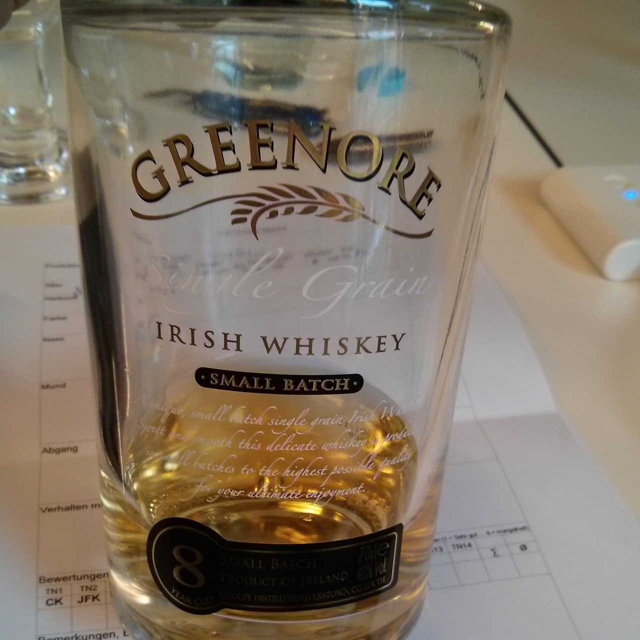 Greenore Small Batch 8yo
