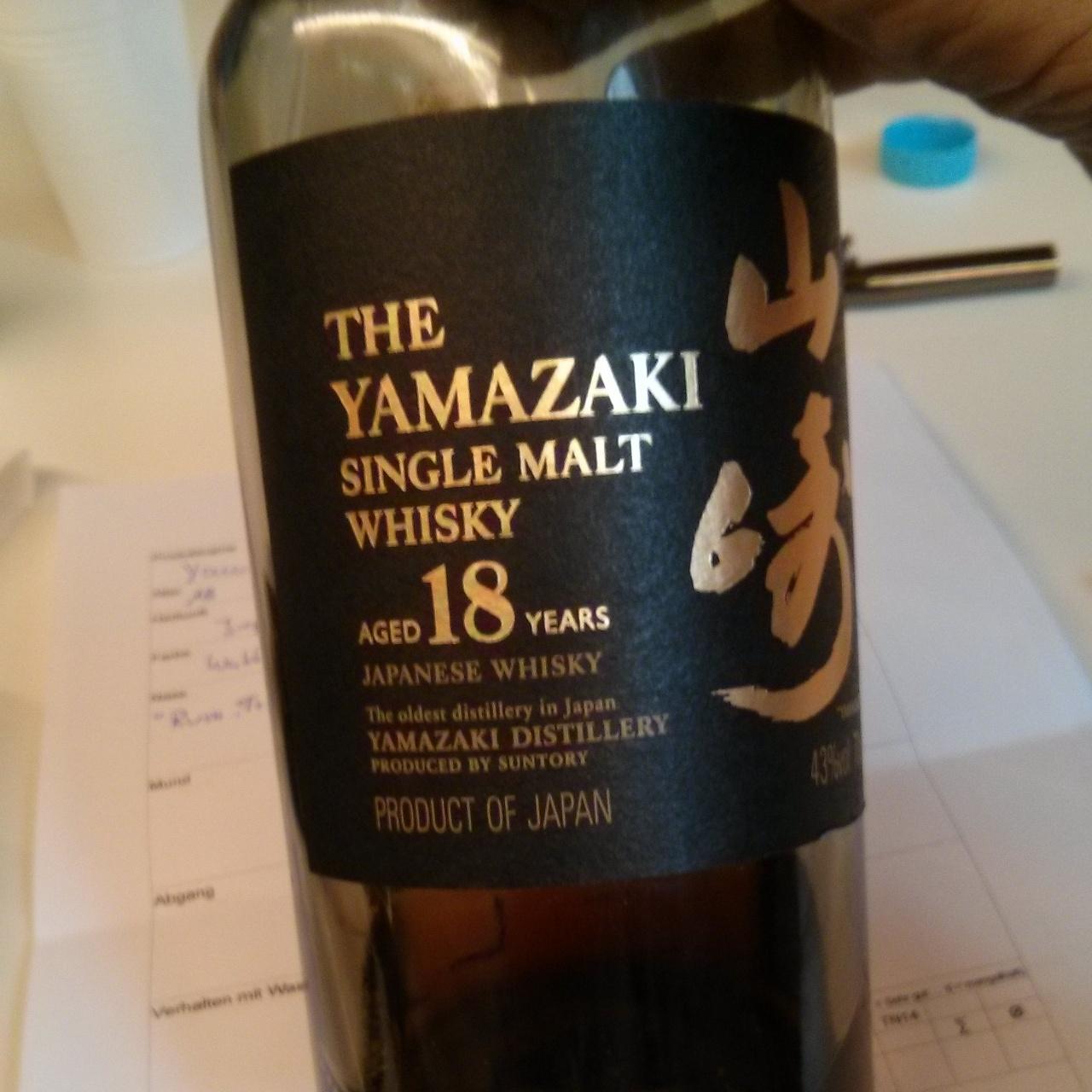 The Yamazaki 18yo