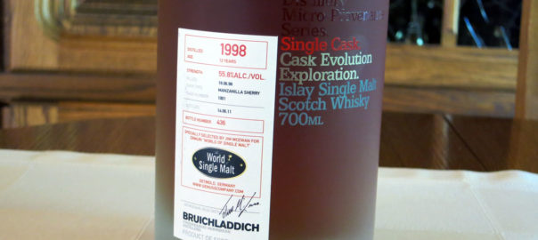 Bruichladdich 1998, 12 Jahre, Manzanilla