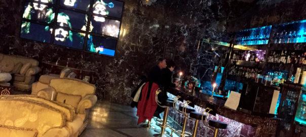 Die Casablanca Bar im Novum Unique Hotel