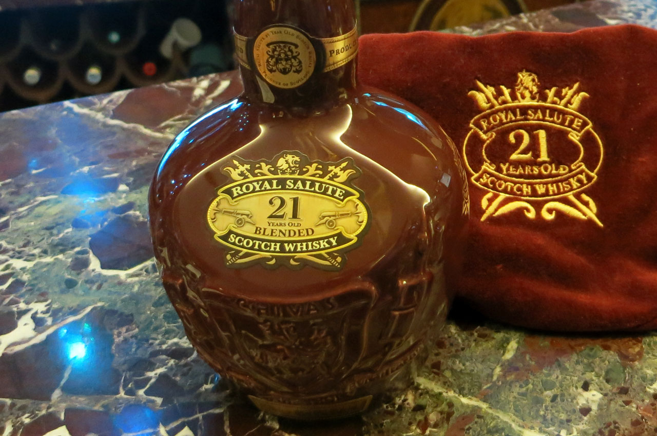 Royal Salute, 21y., blended Scotch