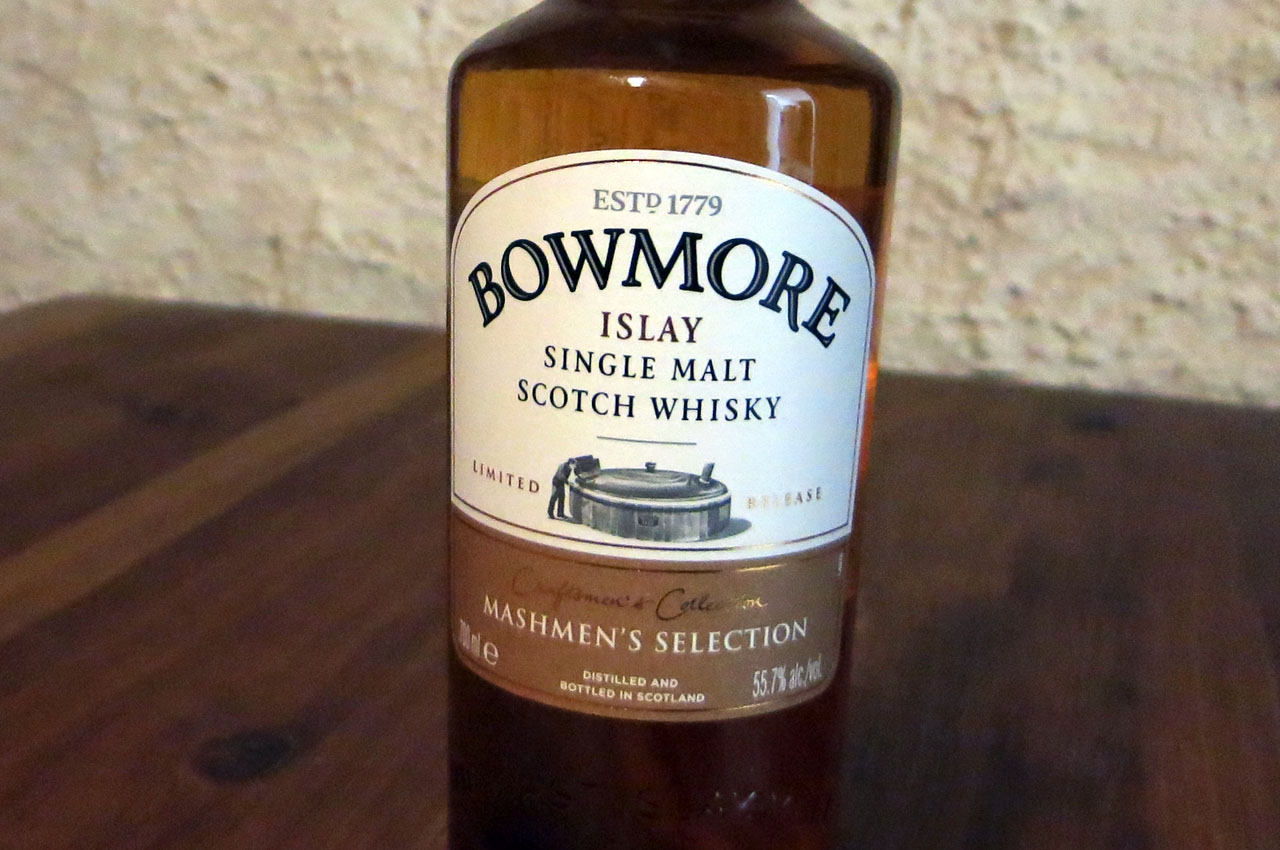 Bowmore Mashmen's Selection, distillery only release