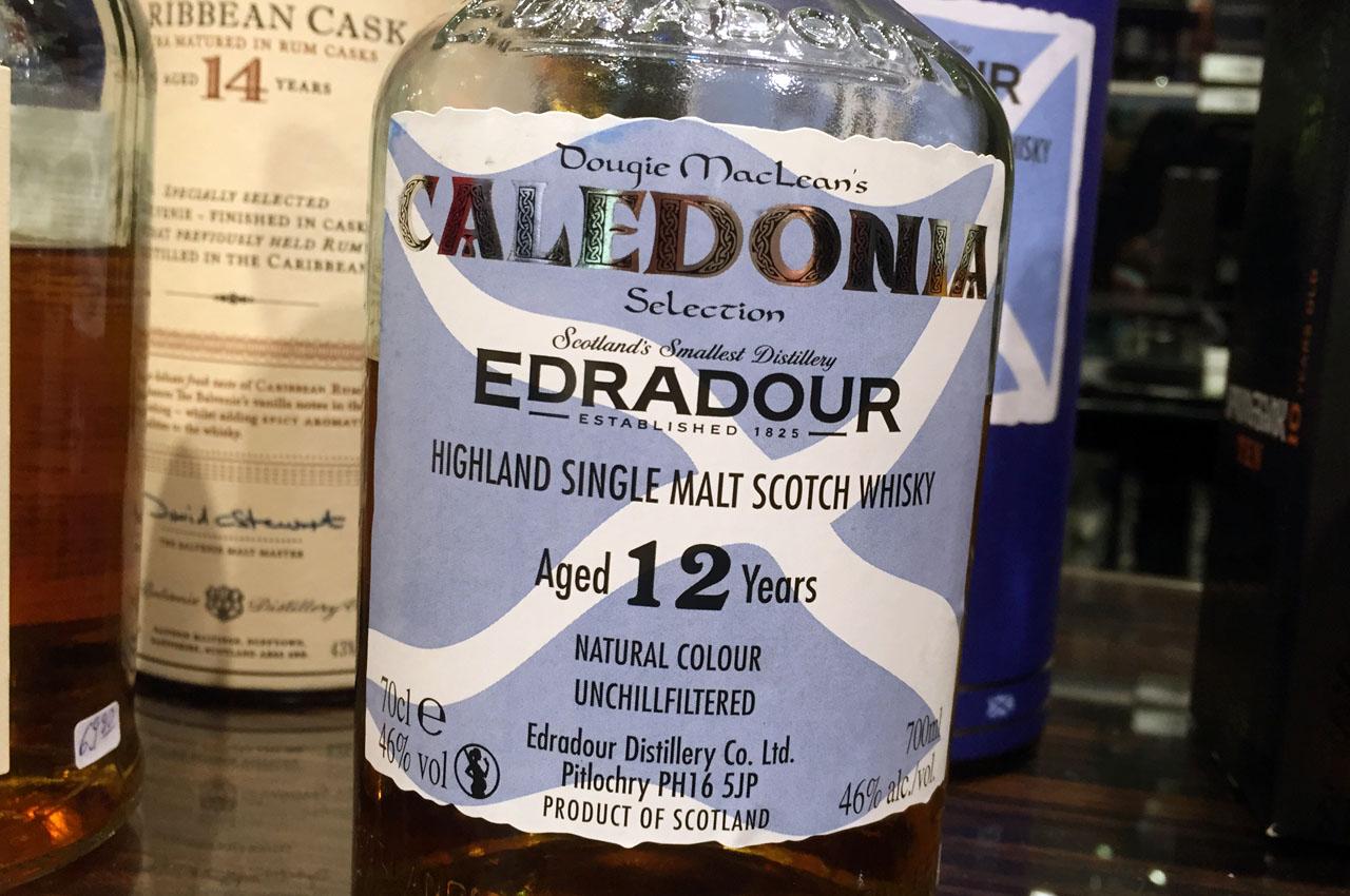Edradour 12 Jahre Dougi MacLean's Caledonia Selection