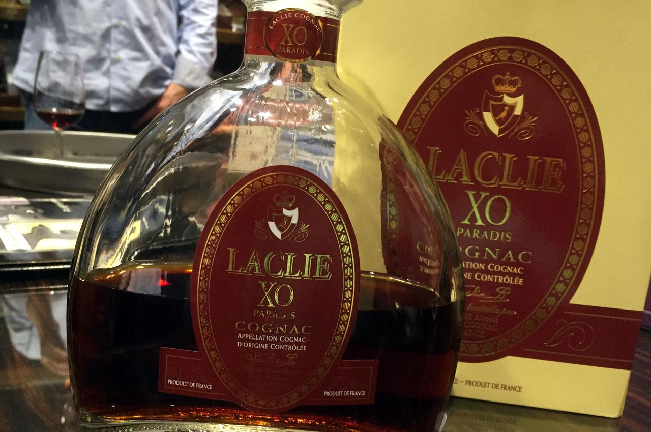 Laclie XO Paradis Appellation Cognac Dorigine Controlee