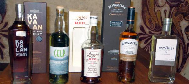 Das Lineup beim #whiskySBH im Dezember 2014