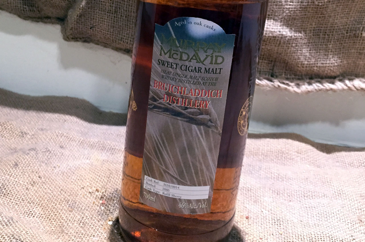 Bruichladdich Sweet Cigar Malt, Murray McDavid Limited Edition No. 3 for Emuri, botteled 2005