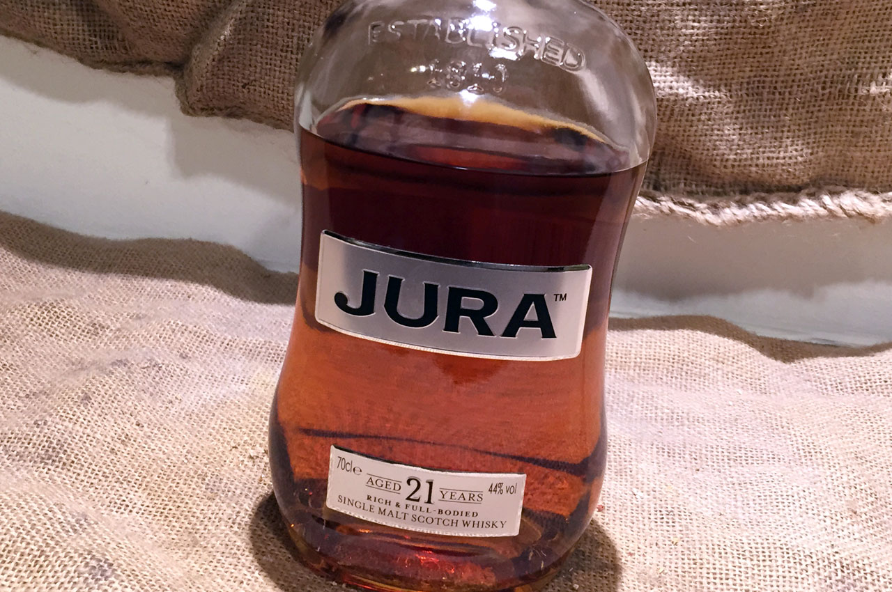 Jura 21 Jahre, Sherry Finish