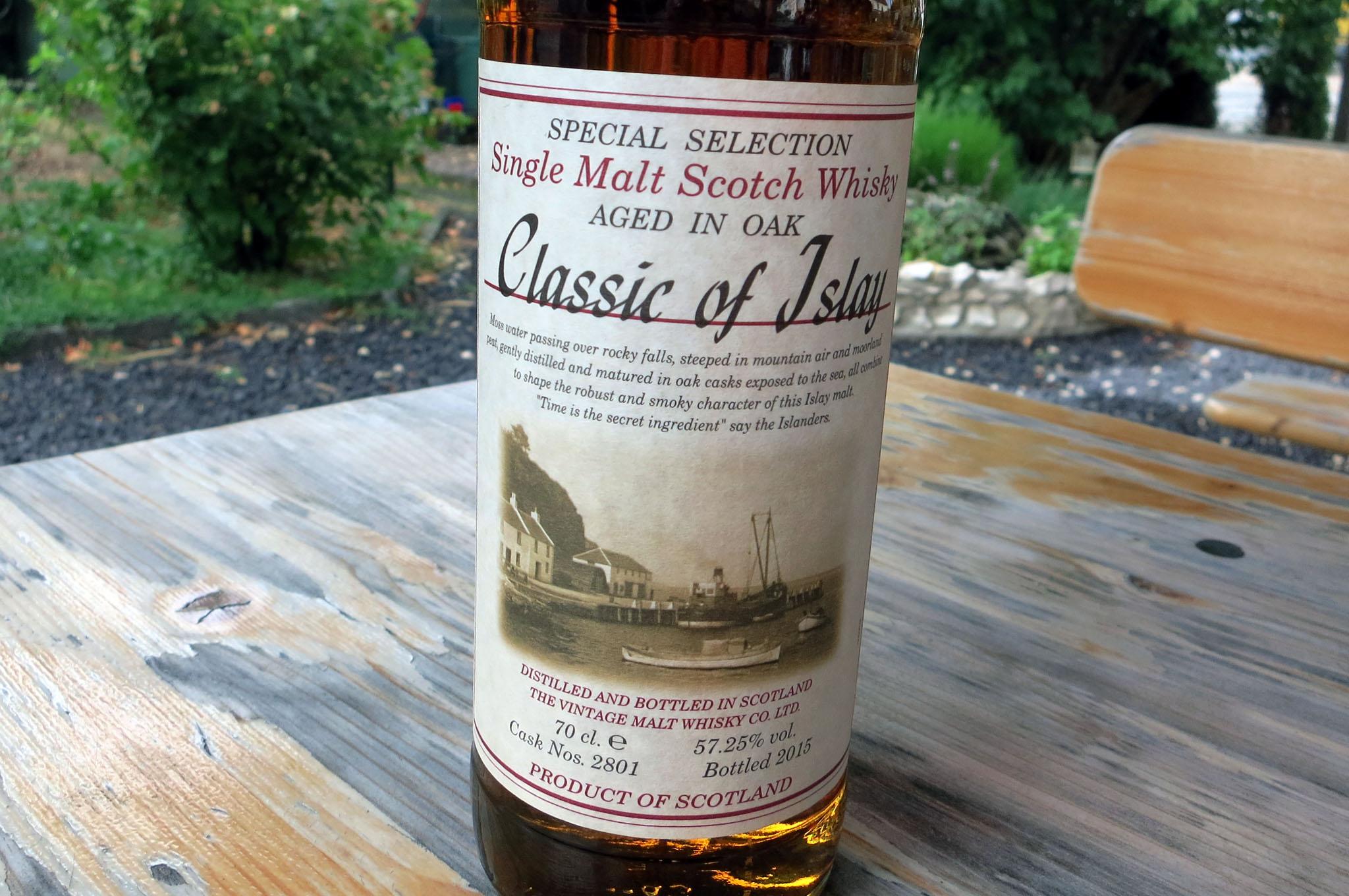 Classics of Islay, Cask 2801
