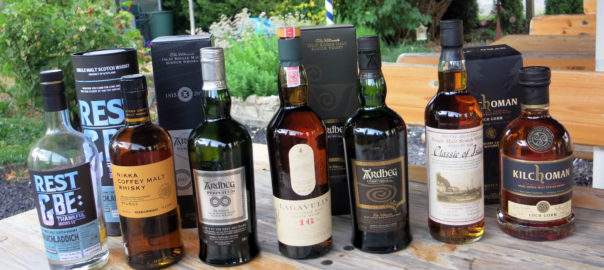 Das Lineup whiskySBH 07/2015