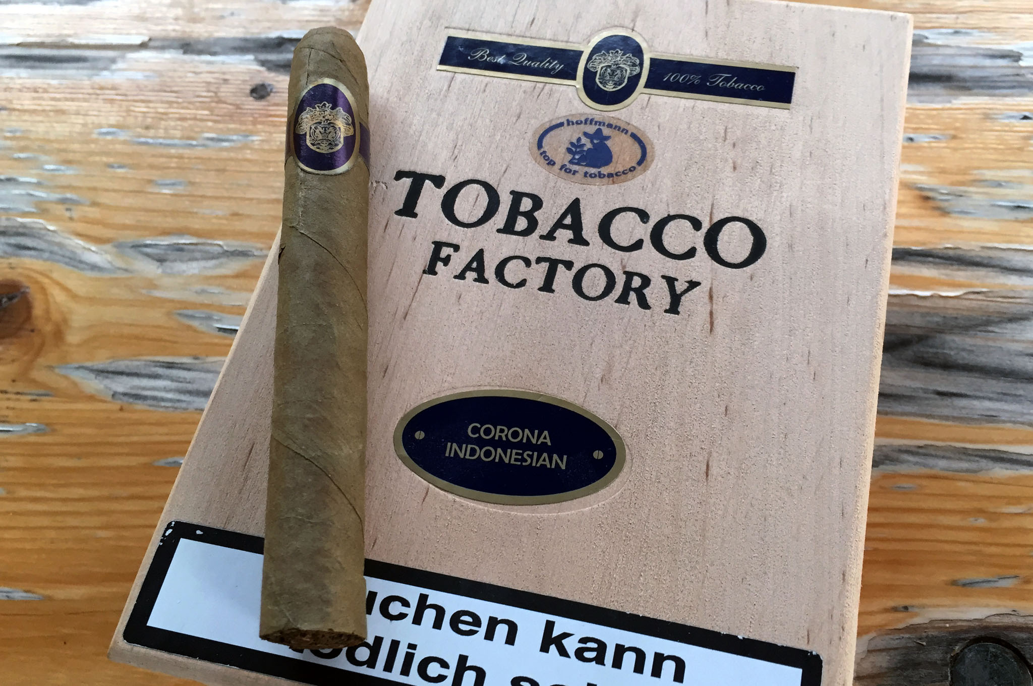 Tobacco Factory, Corona Indonesian