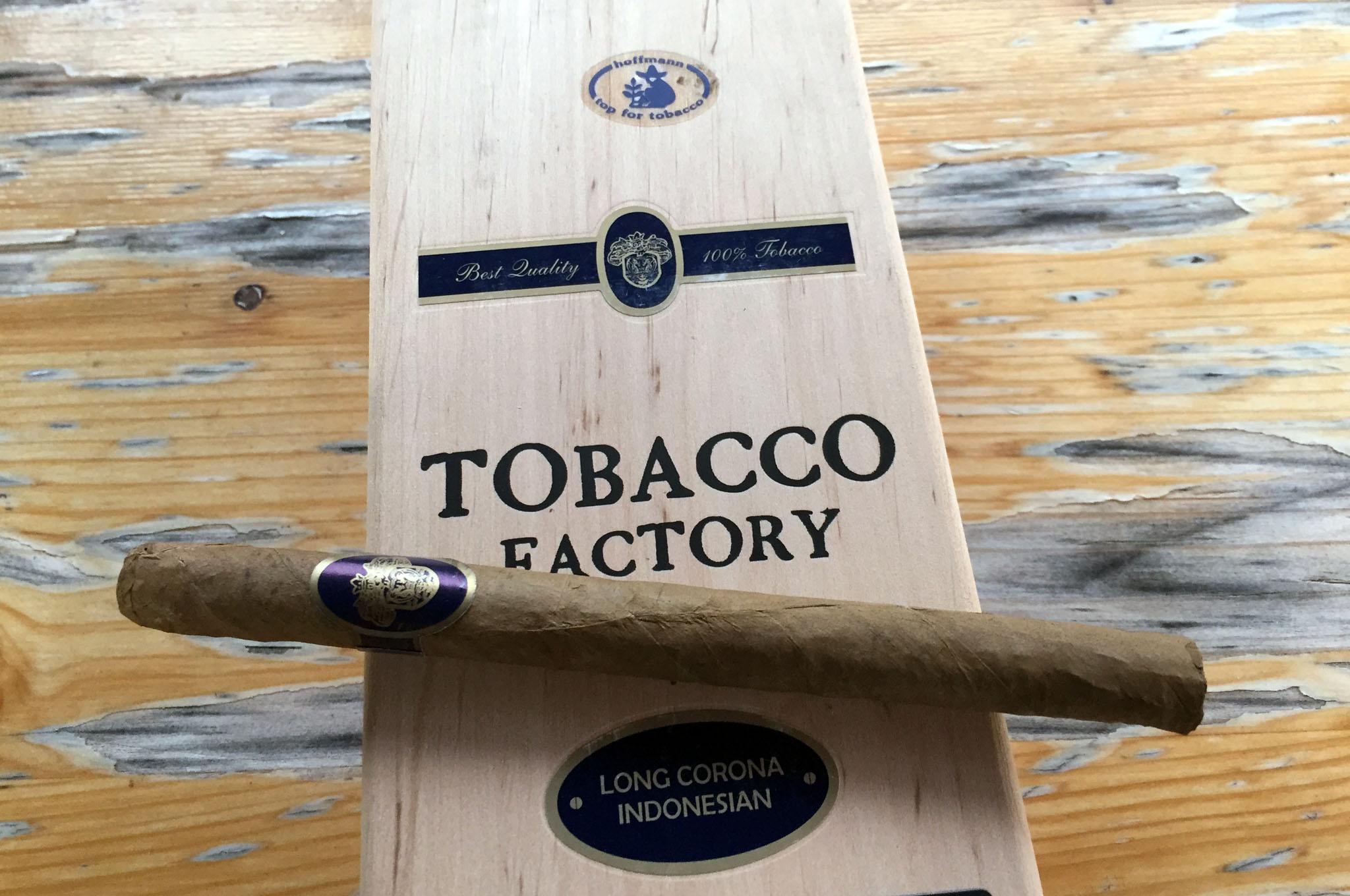 Tabcco Factory, Long Corona Indonesian