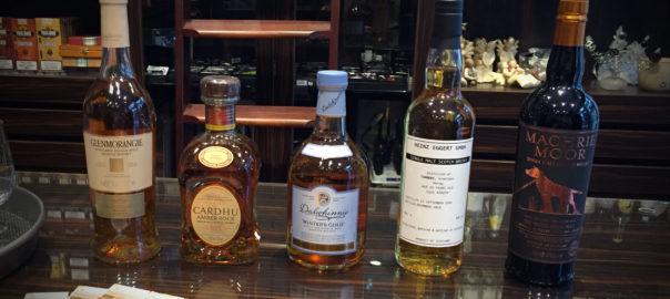 Das Lineup des Abends #whiskyUDO 02/2016