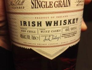 Details auf dem Label