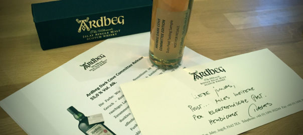 Ardbeg Dark Cove Committee Release (Tasting Sample)