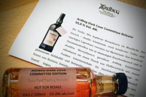 Tasting Sample mit Pressemitteilung