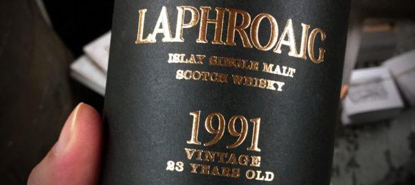 Laphroaig 23 Jahre, Limited Edition, Vintage 1991/2014