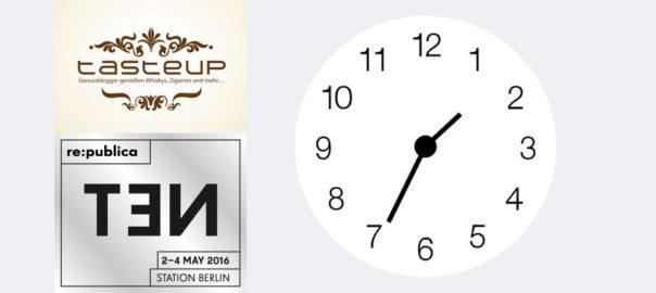 re:publica TEN Tasteup-Zeitplan