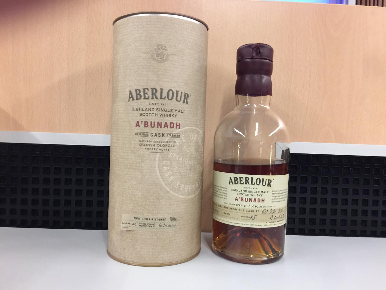 Aberlour A'Bunadh, ein Cask Strength (Speyside)