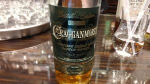 Etikett des Cragganmore in der 2003/2015 Ausgabe der Distillers Edition