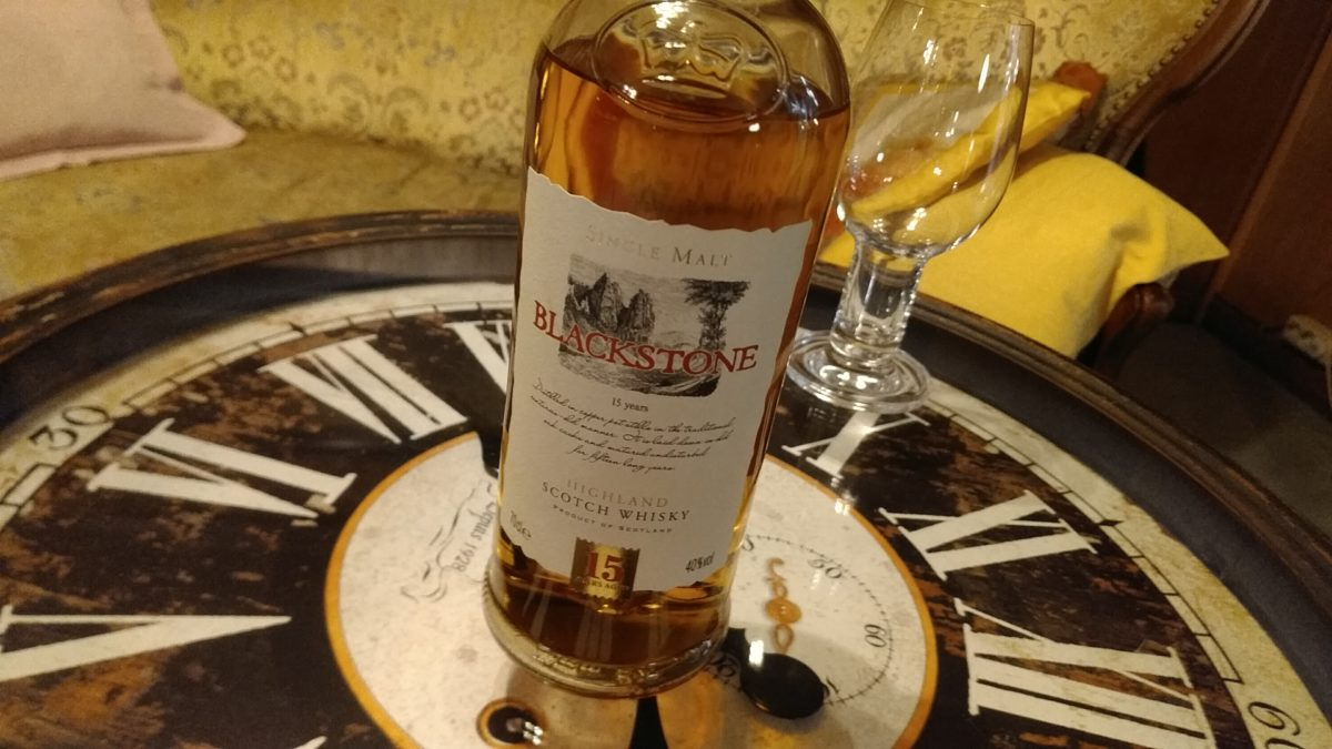 Blackstone 15 Highland Scotch Whisky