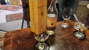 Der Glenmorangie Original 10 Jahre in der Verkostung