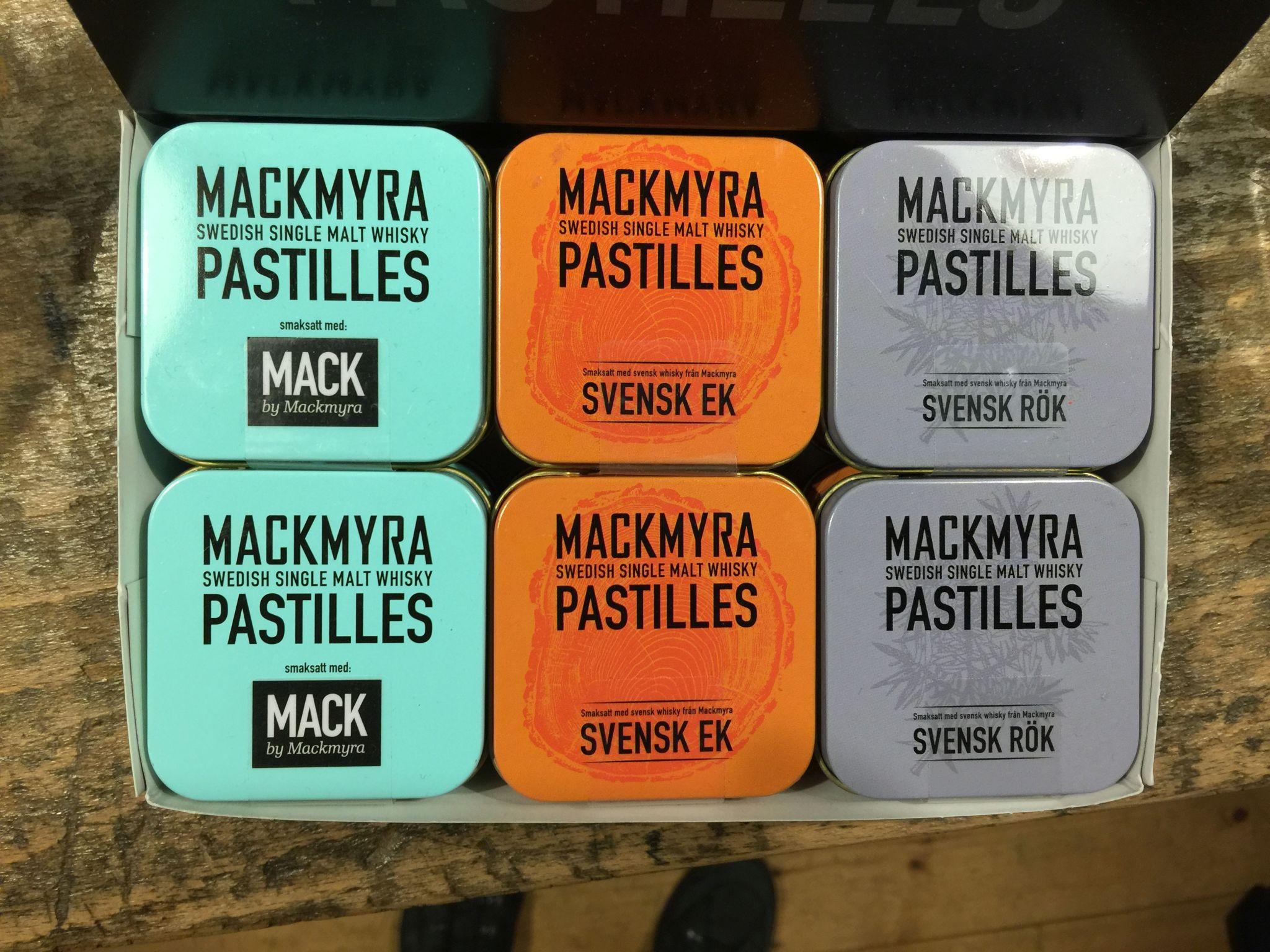Es gab auch Whisky-Lakritz von Mackmyra
