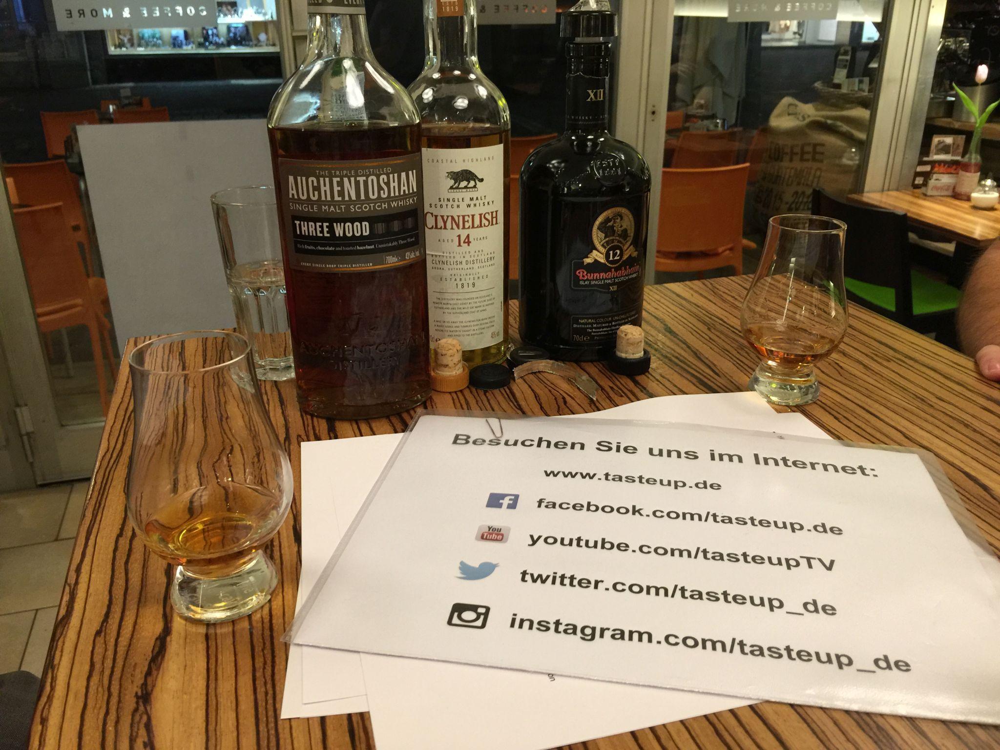 Whisky und social media. Eine gute Mischung.