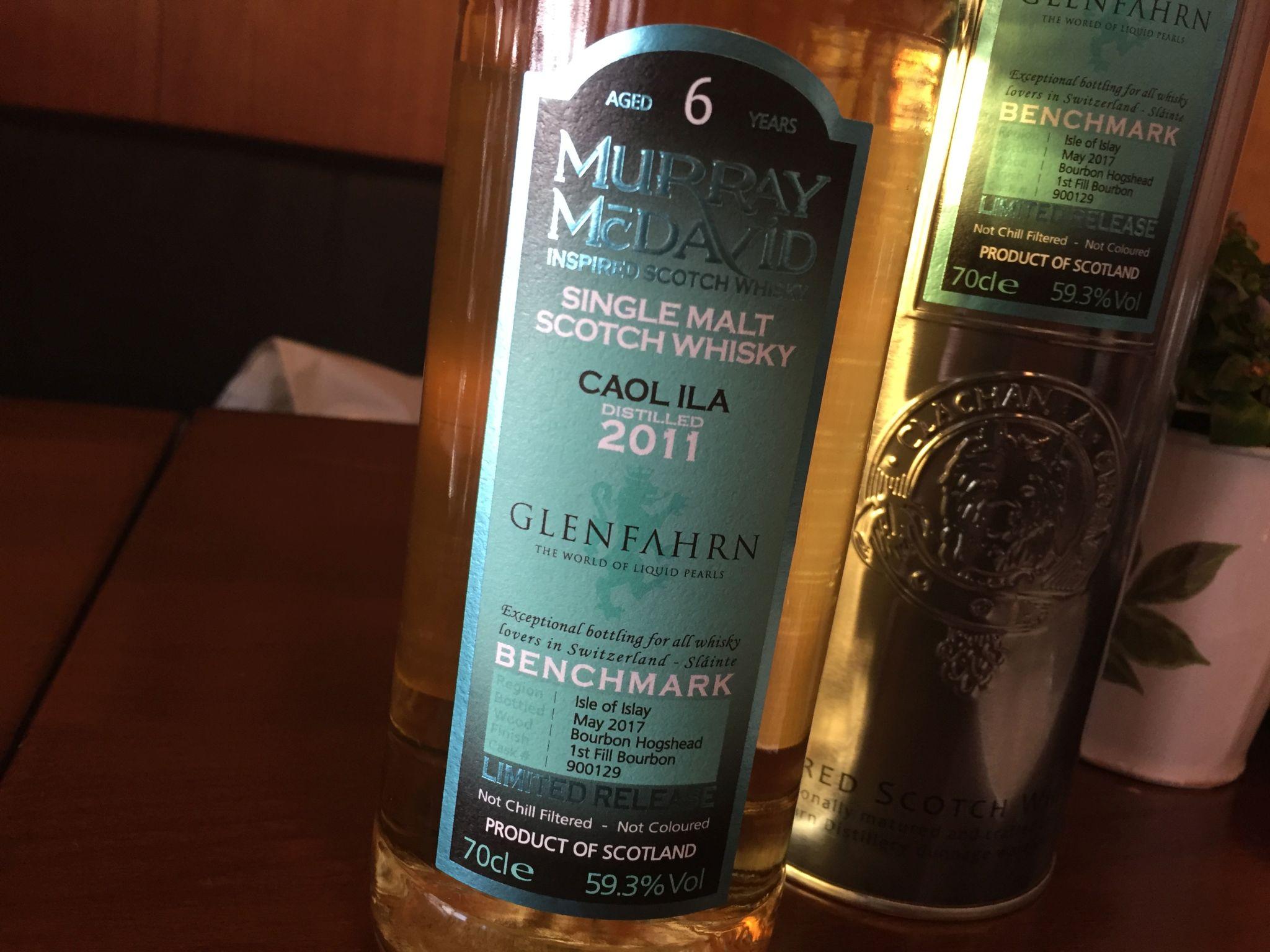 2011 destilliert, im 1st fill Bourbon Hogshead gereift und im Mai 2017 abgefüllt