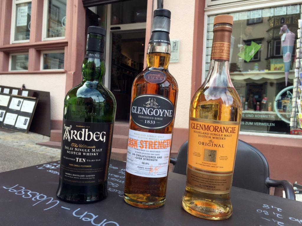 Lineup Whisky-Treff Tuttlingen 08/2017