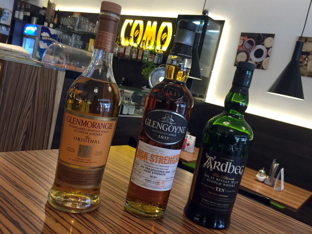 Lineup Whisky-Treff Tuttlingen 07/2017